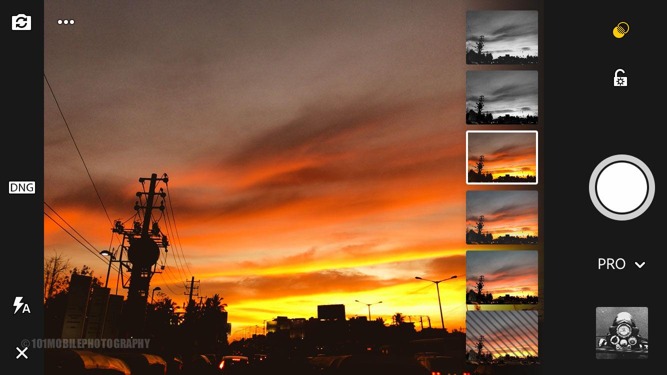 Take photos on smartphone like in DSLR - Lightroom app settings