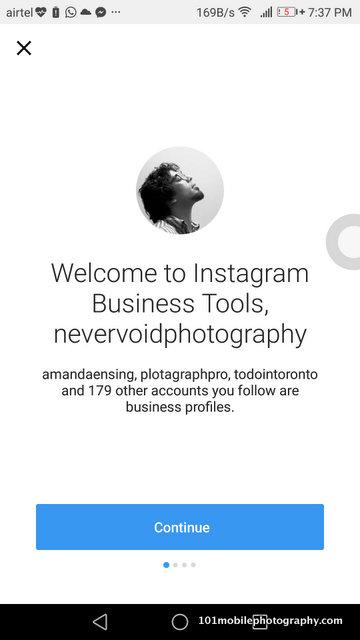 Instagram Business profile tips