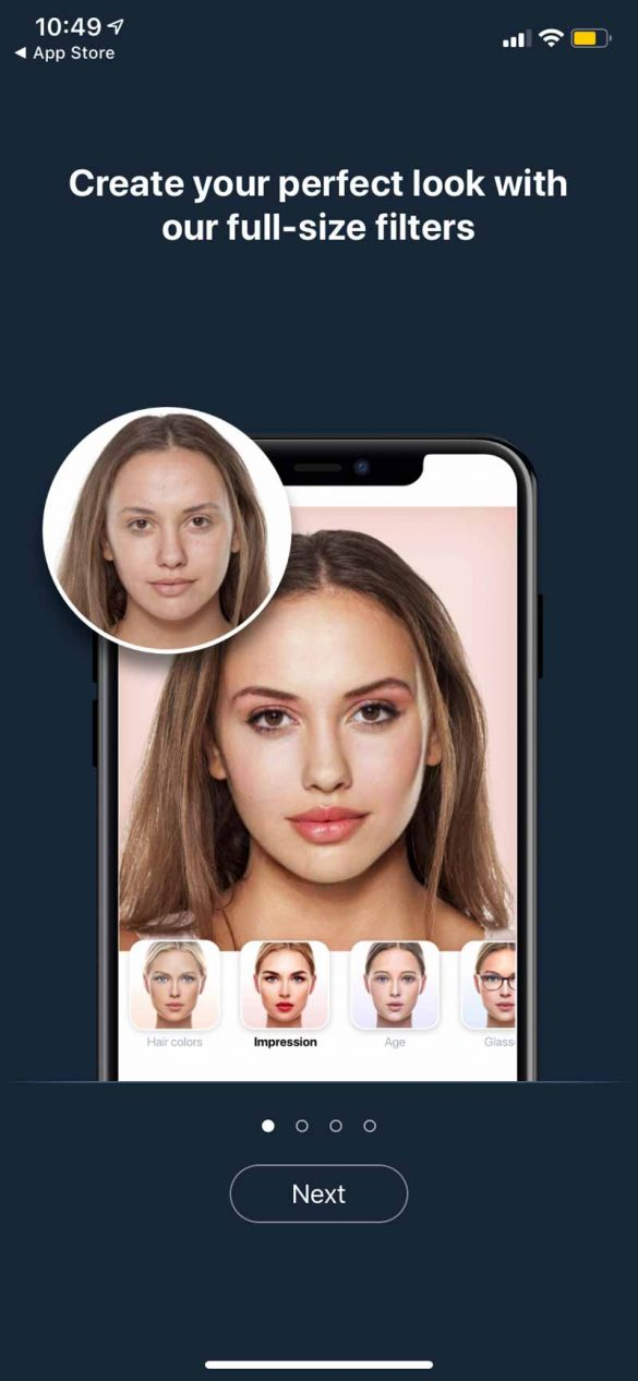 FaceApp - turn your selfie into old age photo